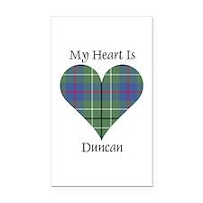 Heart - Duncan Rectangle Car Magnet
