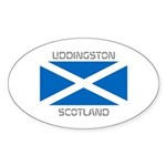 Uddingston Scotland Sticker (Oval 10 pk)