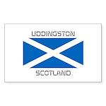 Uddingston Scotland Sticker (Rectangle 50 pk)