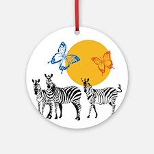 Hendrix - Little Wing (Butterflies and Zebras) Orn