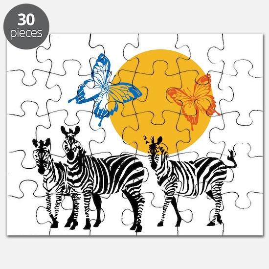 Hendrix - Little Wing (Butterflies and Zebras) Puz