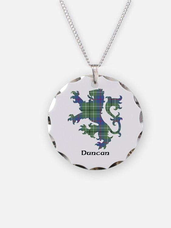 Lion - Duncan Necklace Circle Charm