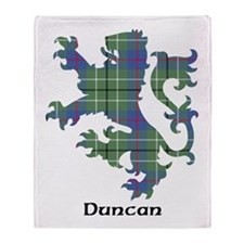 Lion - Duncan Throw Blanket