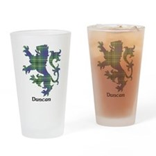 Lion - Duncan Drinking Glass