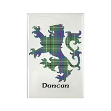 Lion - Duncan Rectangle Magnet