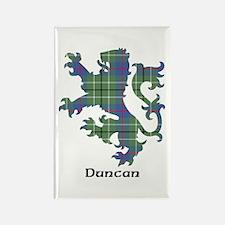 Lion - Duncan Rectangle Magnet