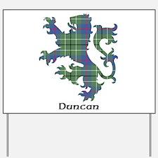 Lion - Duncan Yard Sign