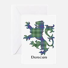 Lion - Duncan Greeting Card
