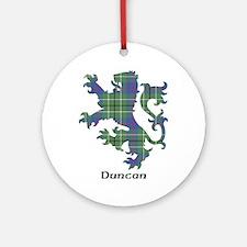 Lion - Duncan Ornament (Round)