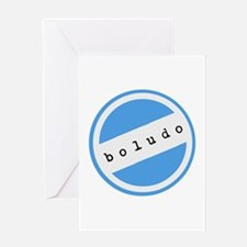 BOLUDO Argentina Greeting Card