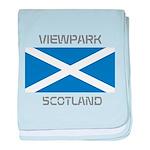 Viewpark Scotland baby blanket