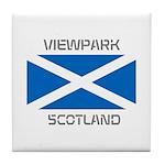 Viewpark Scotland Tile Coaster