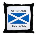 Viewpark Scotland Throw Pillow