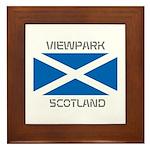 Viewpark Scotland Framed Tile