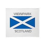 Viewpark Scotland Throw Blanket