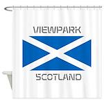 Viewpark Scotland Shower Curtain