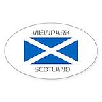 Viewpark Scotland Sticker (Oval 10 pk)