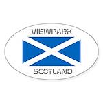Viewpark Scotland Sticker (Oval 50 pk)