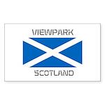Viewpark Scotland Sticker (Rectangle 10 pk)