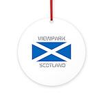 Viewpark Scotland Ornament (Round)
