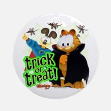 Garfield Show Trick or Treat Ornament (Round)