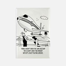 Crop Dusting and Airlines Rectangle Magnet