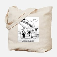 Crop Dusting and Airlines Tote Bag