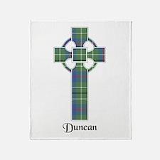 Cross - Duncan Throw Blanket