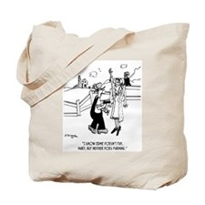 Crime & Farming Doesn't Pay Tote Bag