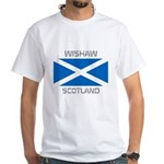 Wishaw Scotland White T-Shirt