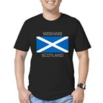 Wishaw Scotland Men's Fitted T-Shirt (dark)