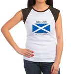 Wishaw Scotland Women's Cap Sleeve T-Shirt