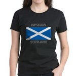 Wishaw Scotland Women's Dark T-Shirt