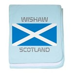 Wishaw Scotland baby blanket