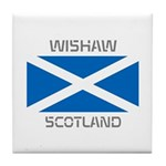 Wishaw Scotland Tile Coaster