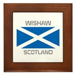 Wishaw Scotland Framed Tile