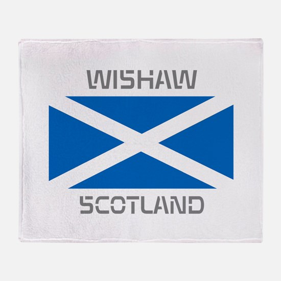 Wishaw Scotland Throw Blanket