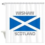 Wishaw Scotland Shower Curtain