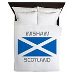 Wishaw Scotland Queen Duvet