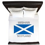 Wishaw Scotland King Duvet