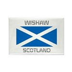 Wishaw Scotland Rectangle Magnet (100 pack)