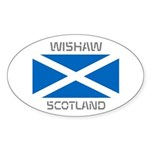 Wishaw Scotland Sticker (Oval)