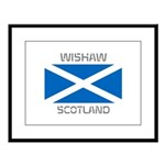 Wishaw Scotland Large Framed Print