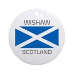 Wishaw Scotland Ornament (Round)