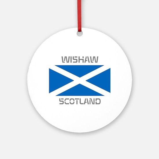 Wishaw Scotland Ornament (Round)