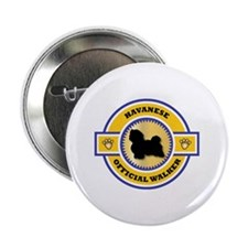 Havanese Walker Button
