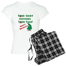 Shirt Matches Your Face Pajamas