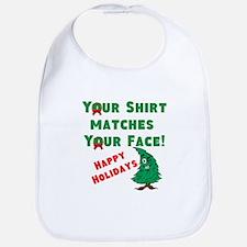 Shirt Matches Your Face Bib
