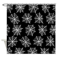 'Spider Webs' Shower Curtain