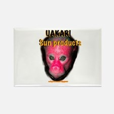 uakari sun products Rectangle Magnet